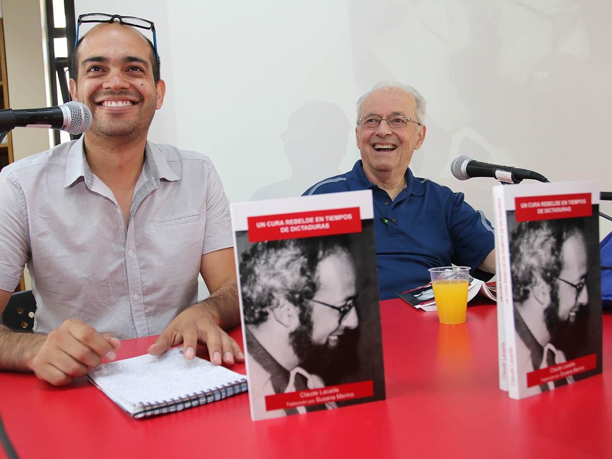 Lanzamiento de libro Claude Lacaille