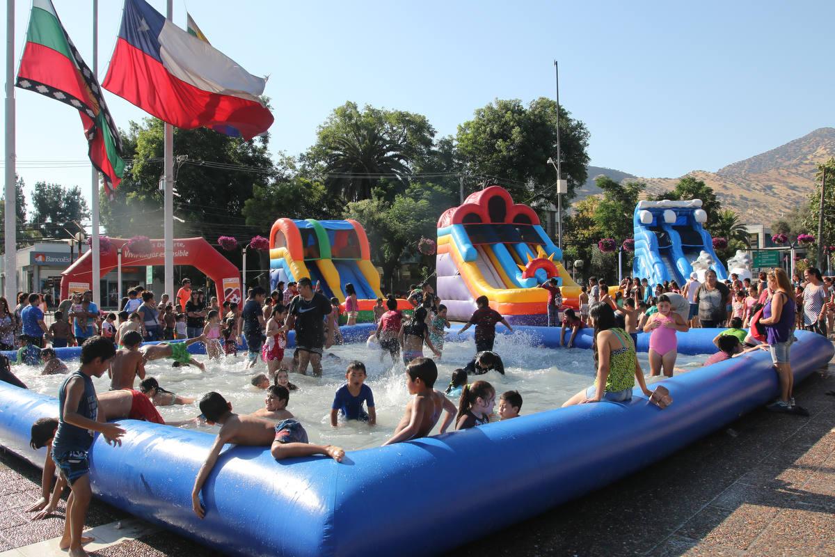 Juegos de Agua Plaza Cívica
