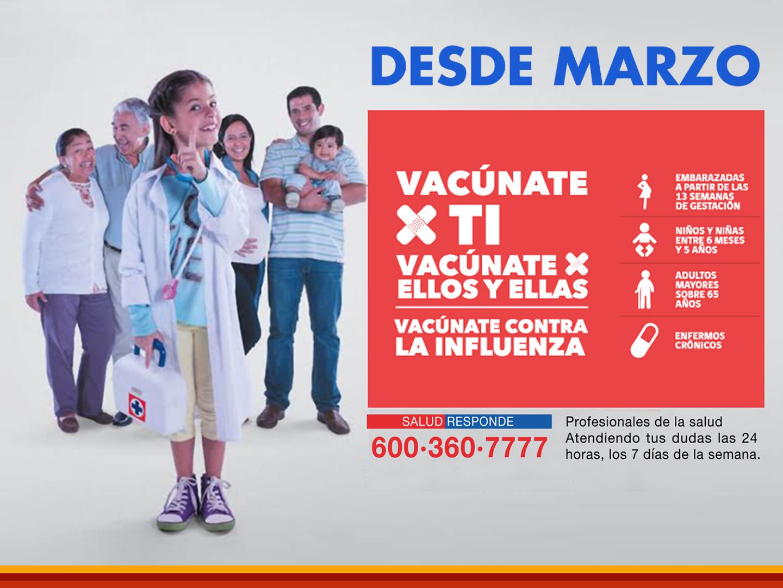 Campaña influenza 2017
