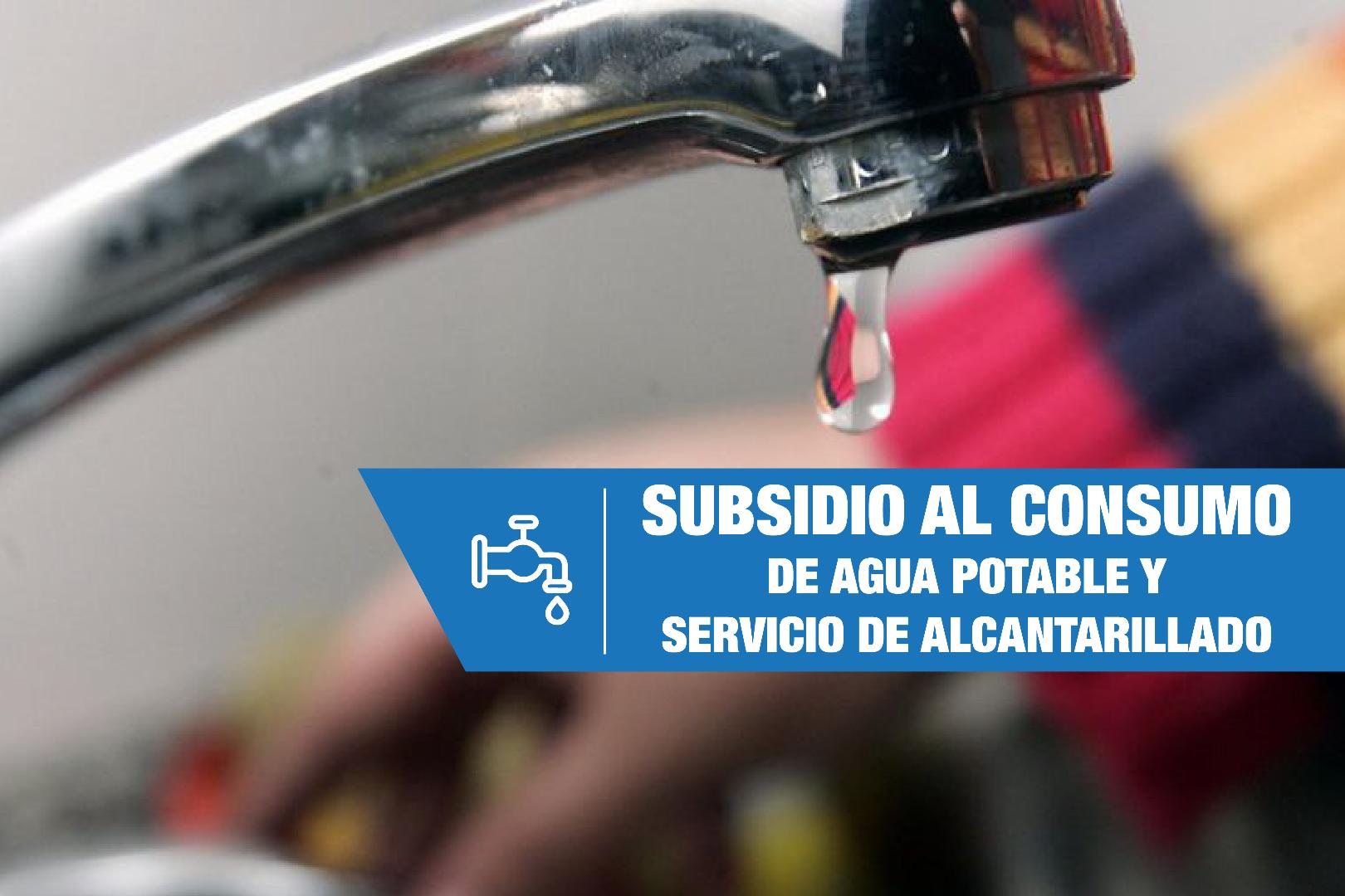 Subsidio al consumo de agua