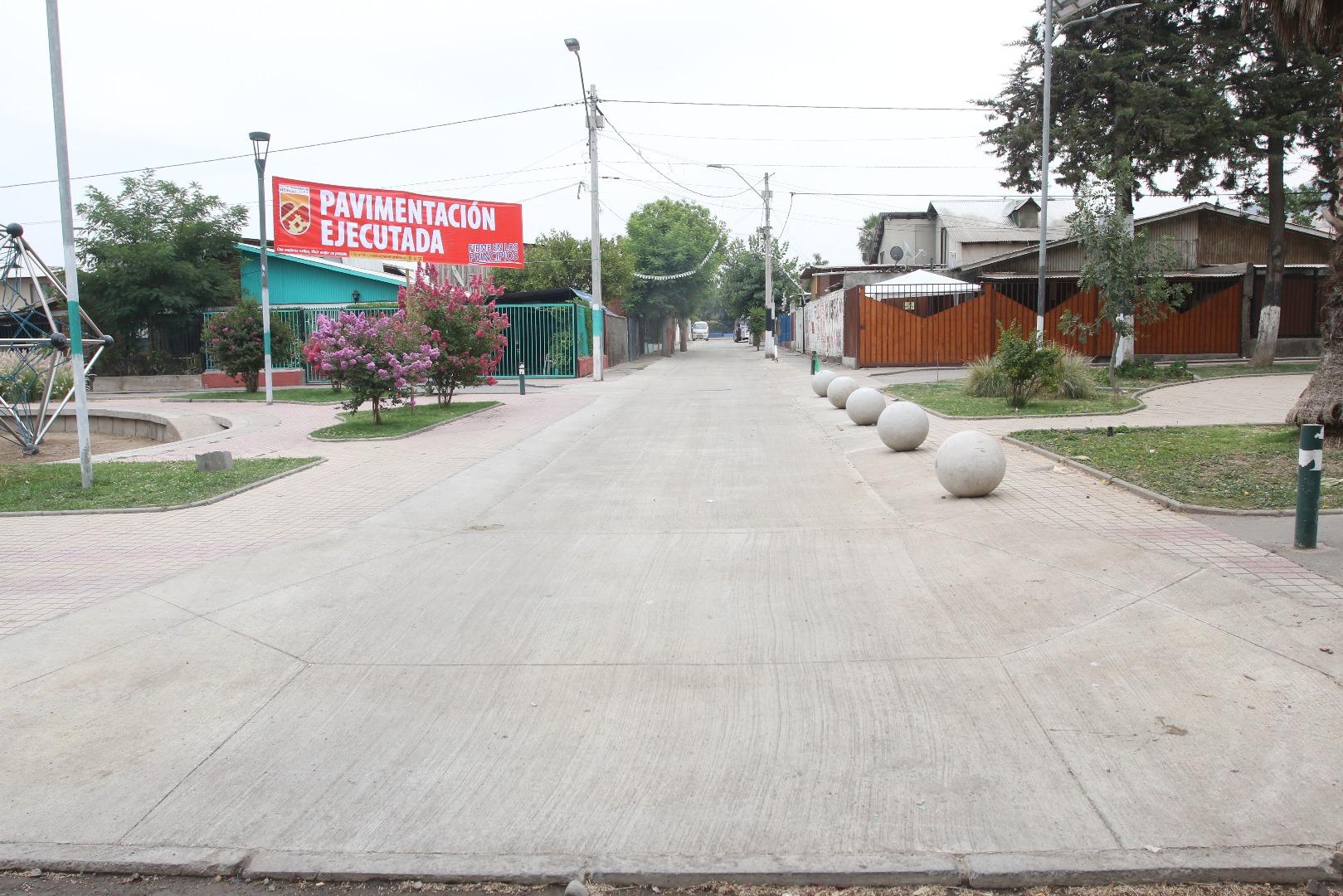 Pavimentación Ejecutada