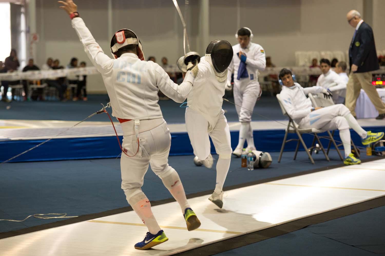 Esteban Bustos sumó una medalla de oro