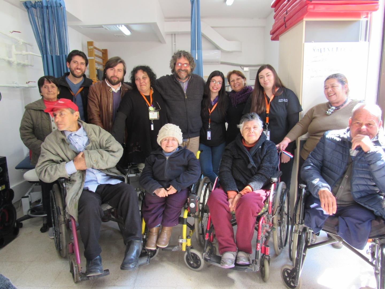 inauguración sala de rehabilitación en Cesfam El Barrero