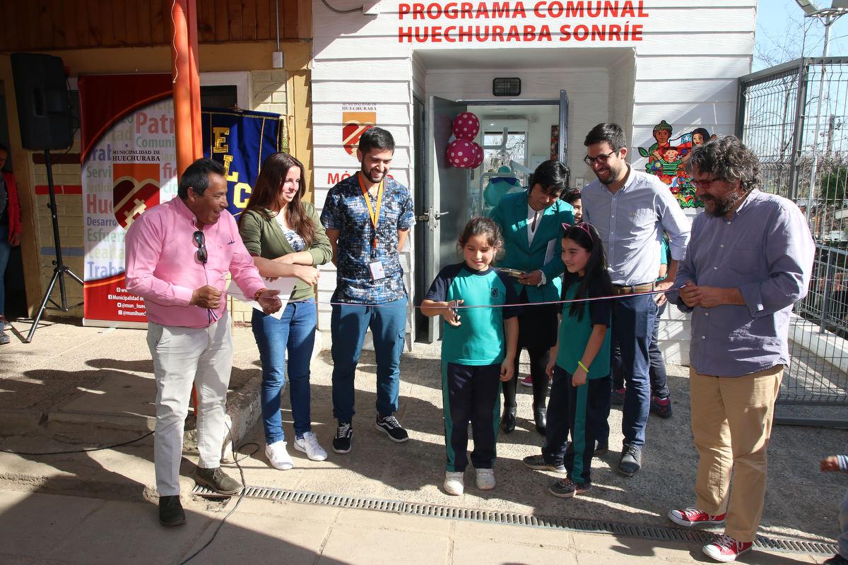 Alcalde Carlos Cuadrado Prats inauguró Módulo Dental en las Escuela Las Canteras