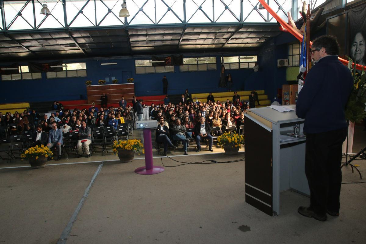 Asistentes de la educación celebraron su día en el Centro Cultural de Huechuraba