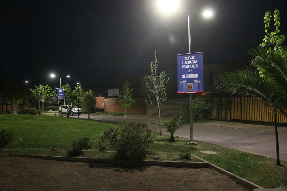 15 nuevos puntos lumínicos fueron instalados en el Loteo Punta Nogales