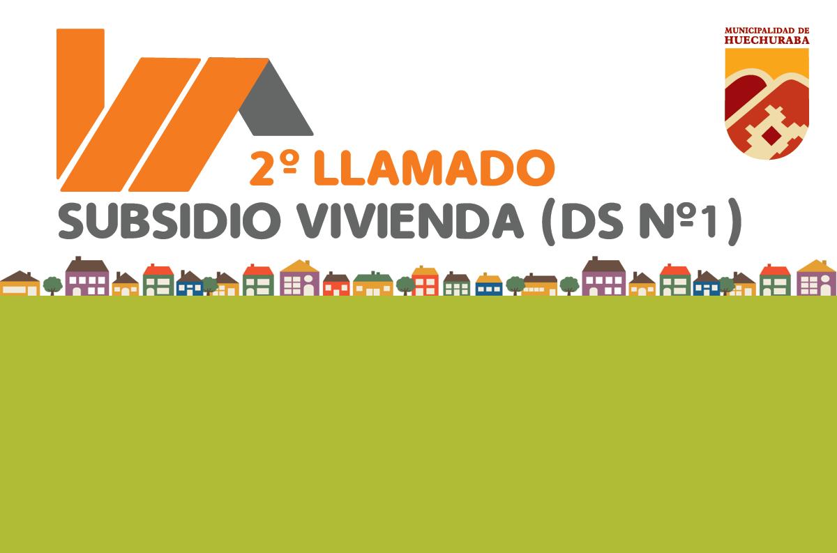 Postulaciones subsidio DS N°1