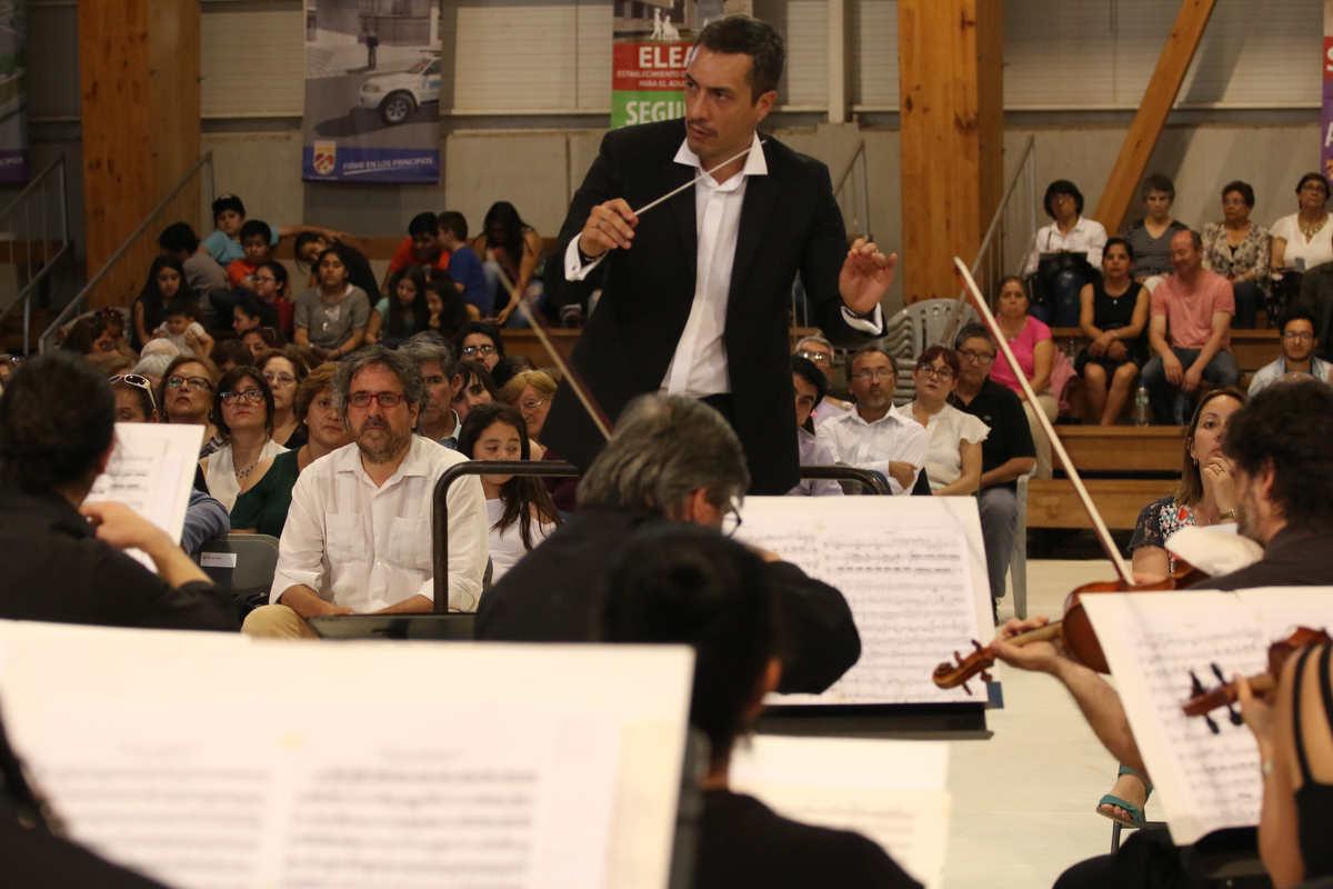 Orquesta de Cámara de Chile presentó en Huechuraba