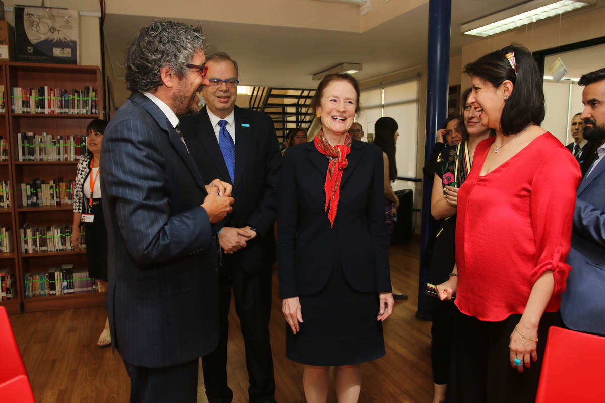 Directora Ejecutiva de UNICEF visitó Huechuraba