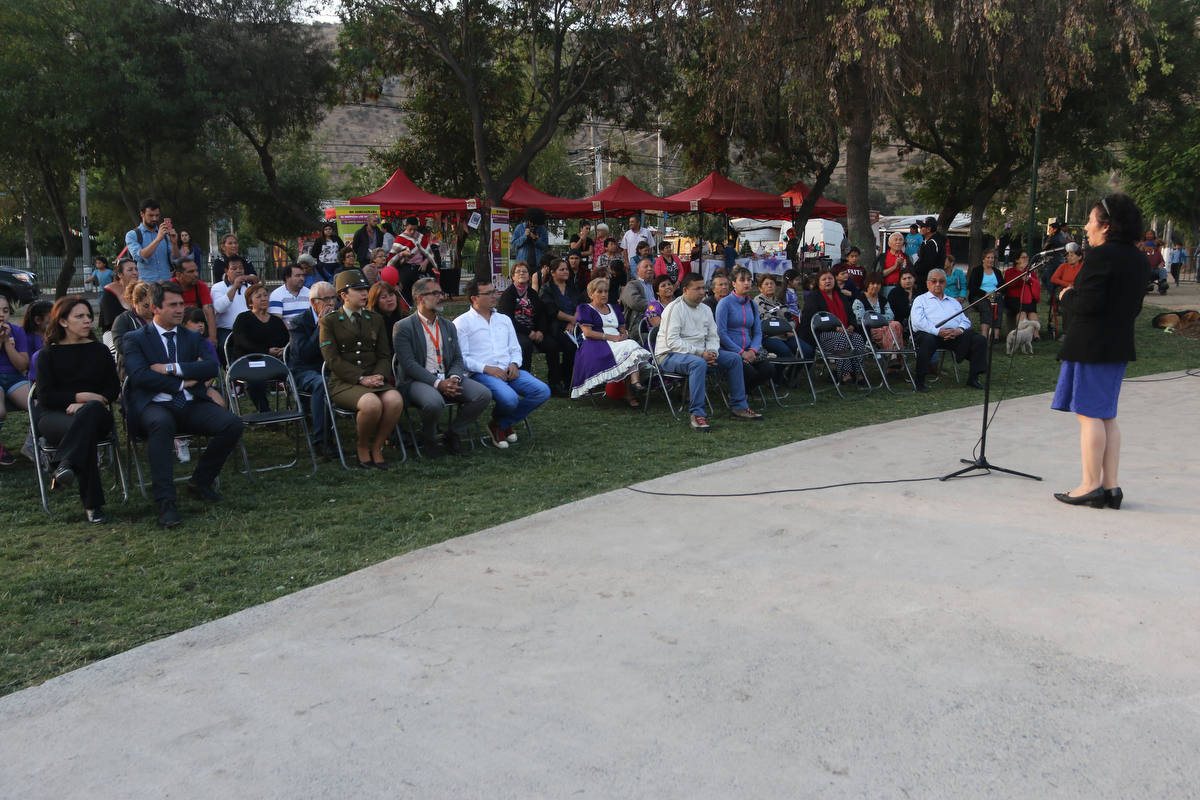 Inauguradas las obras de mejoramiento de Plaza de Patria Nueva