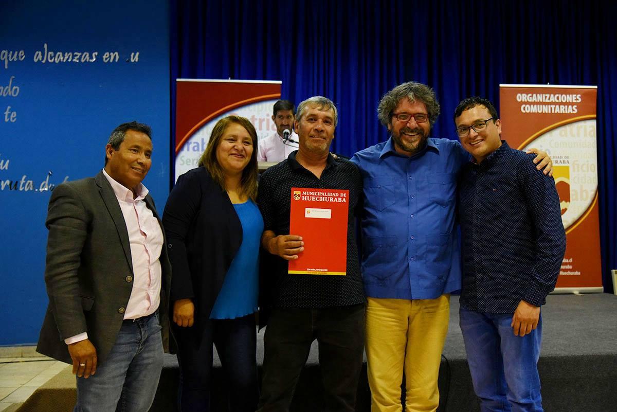 Alcalde Carlos Cuadrado Prats encabezó entrega de Fondeco y Subvenciones Municipales 2018