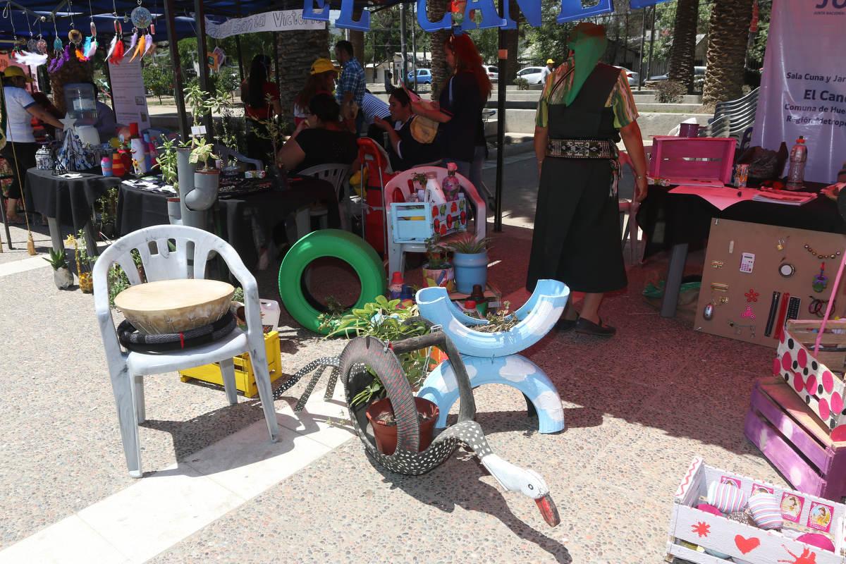 Con éxito se desarrolló la 3ra Feria de Reciclaje de Huechuraba