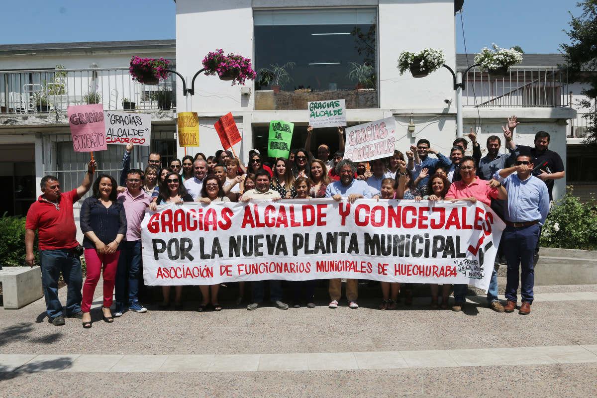 Contraloría aprobó el reglamento que fija la nueva Planta de Personal de la Municipalidad de Huechuraba