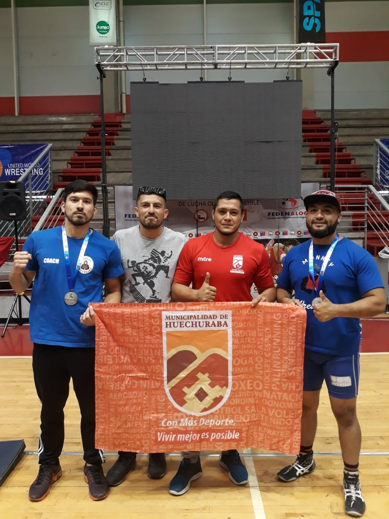 """Luchador Guillermo González obtiene segundo lugar en Torneo """"Chile Open 2018"""""""