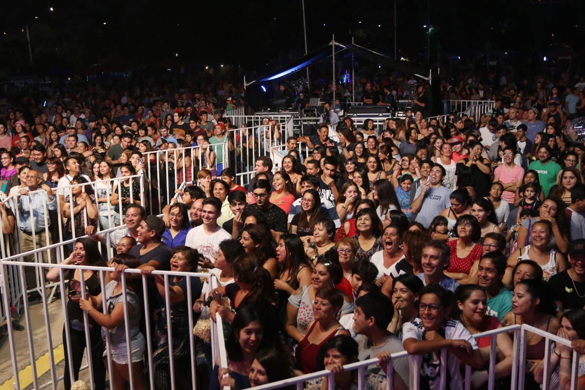 Festival de Verano 2019 en Huechuraba.