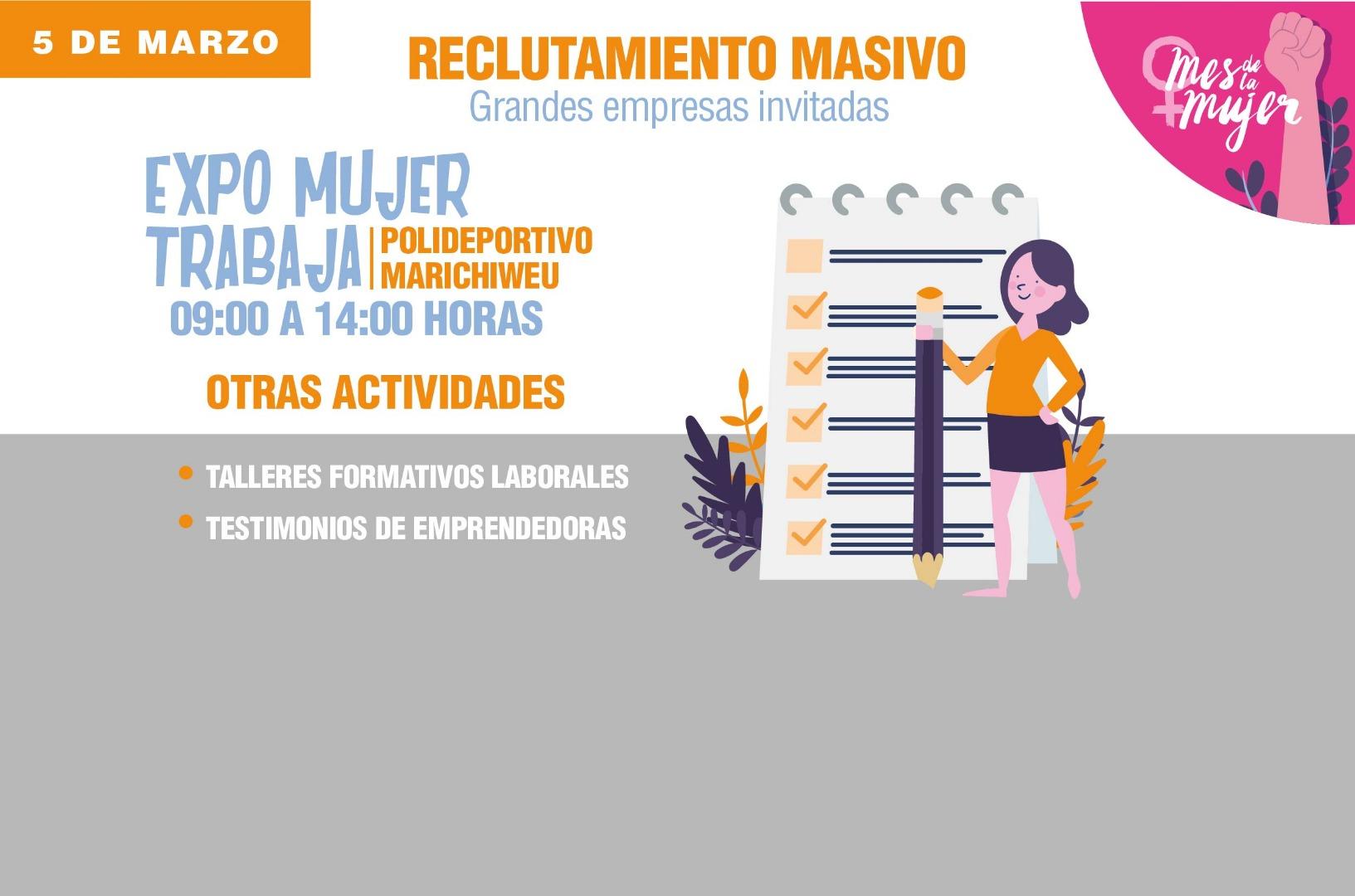 Expo Mujer Huechuraba