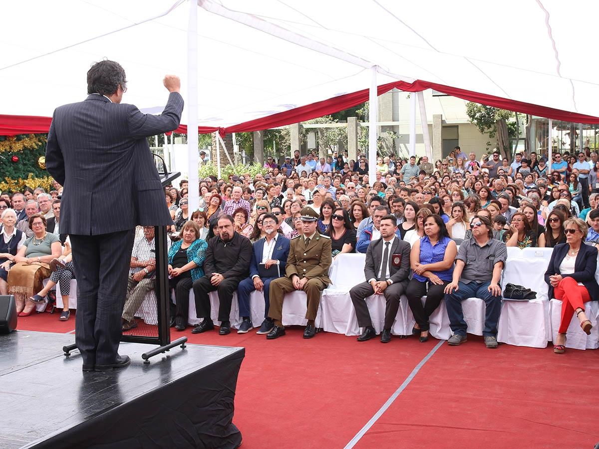 Alcalde Carlos Cuadrado Prats inicia segundo periodo al mando de la comuna