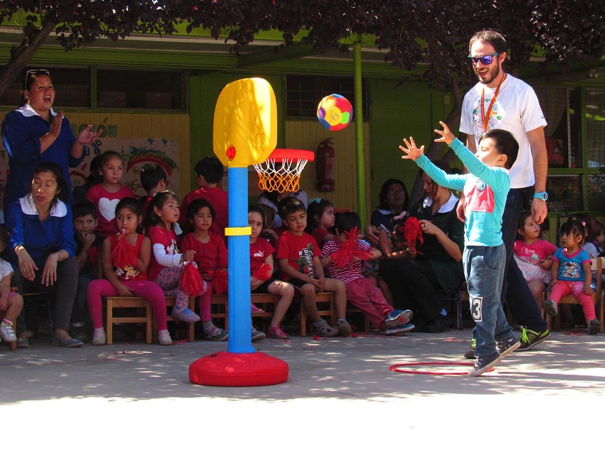 Cierre de actividades psicomotrices en jardines infantiles de Huechuraba