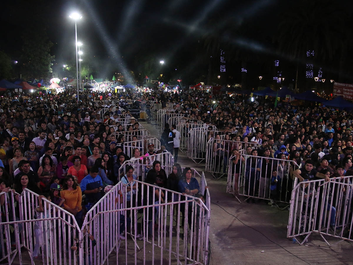 Festival popular de Huechuraba