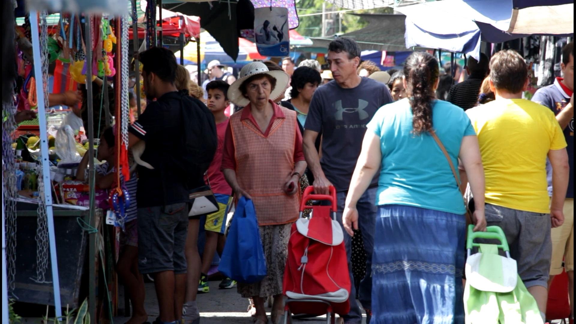 Feria libre. Archivo.