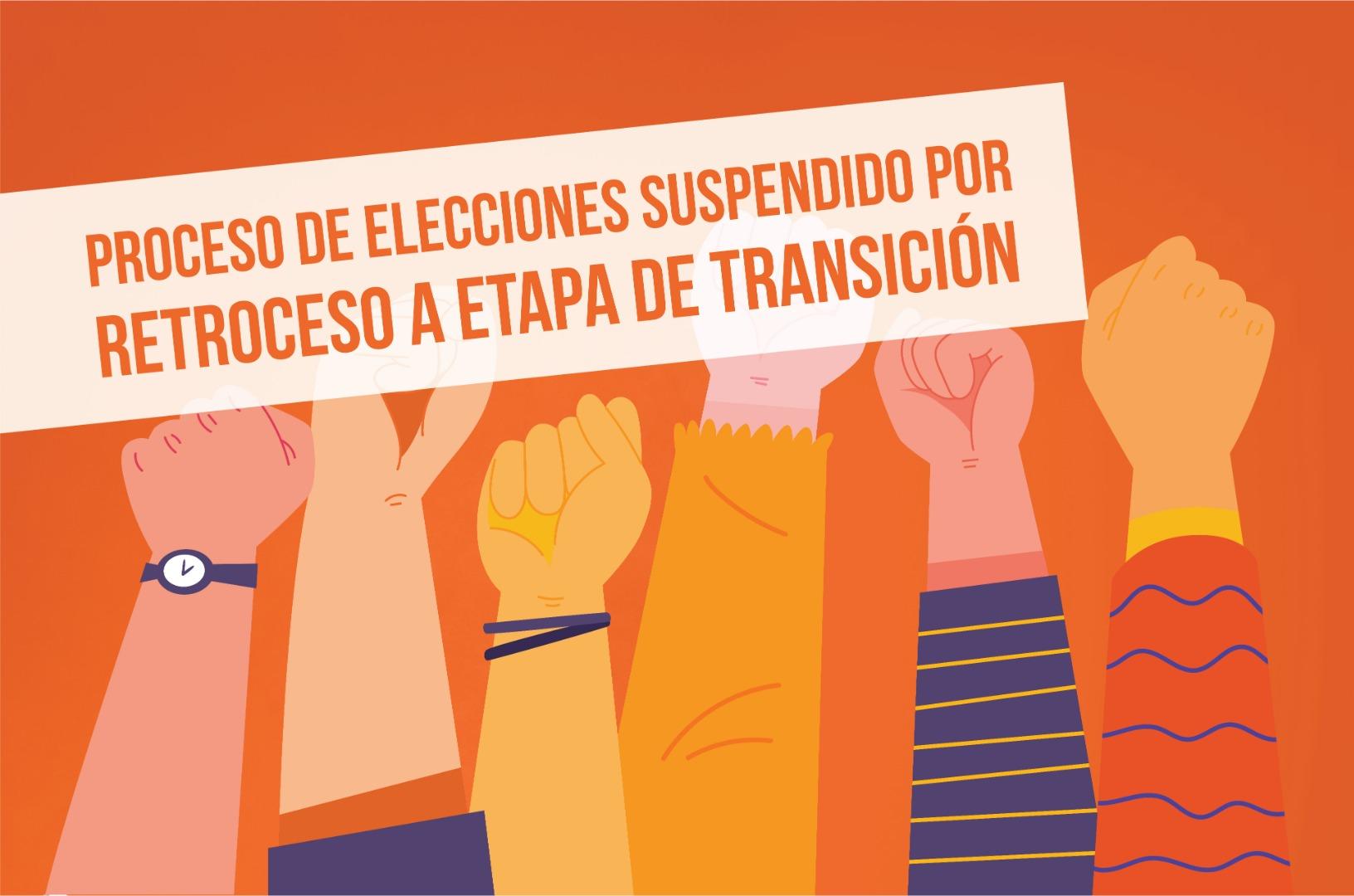 Suspendidas elecciones Cosoc