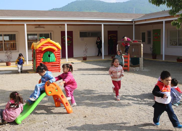 Municipalidad de huechuraba for Jardin infantil